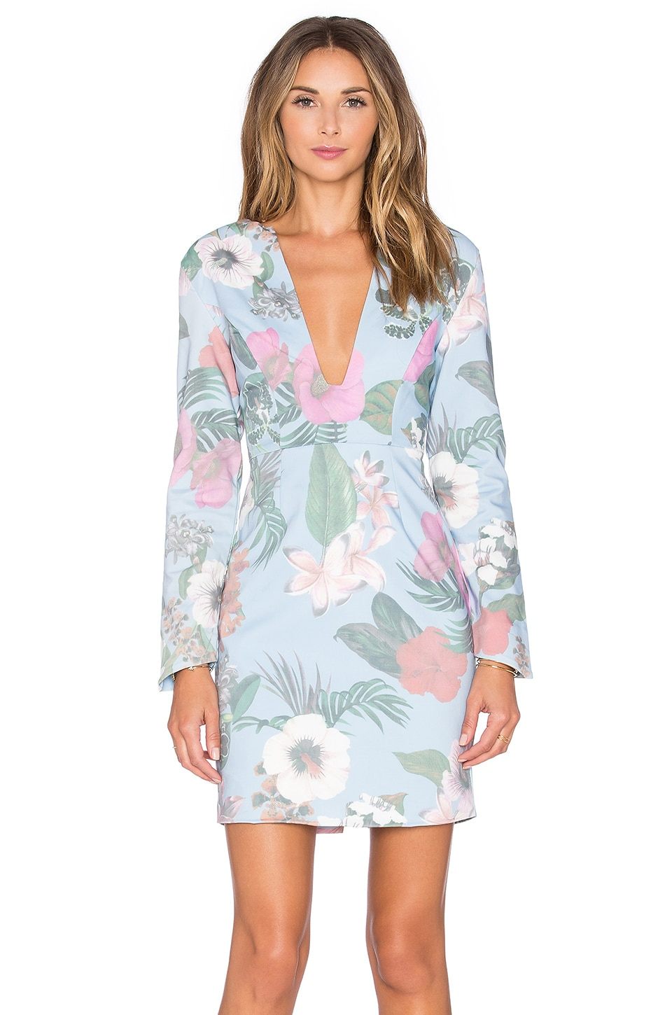 ISLA_CO West Coast Long Sleeve Dress in Multi