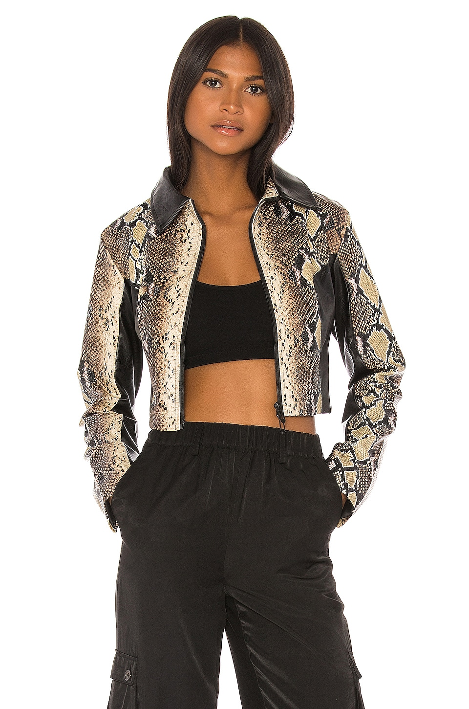 I.AM.GIA Alabama Jacket in Nude
