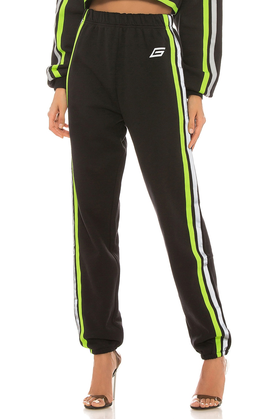 I.AM.GIA Mercury Pant in Black & Neon