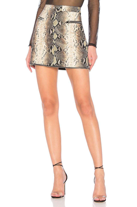 I.AM.GIA Georgia Skirt in Brown Snake