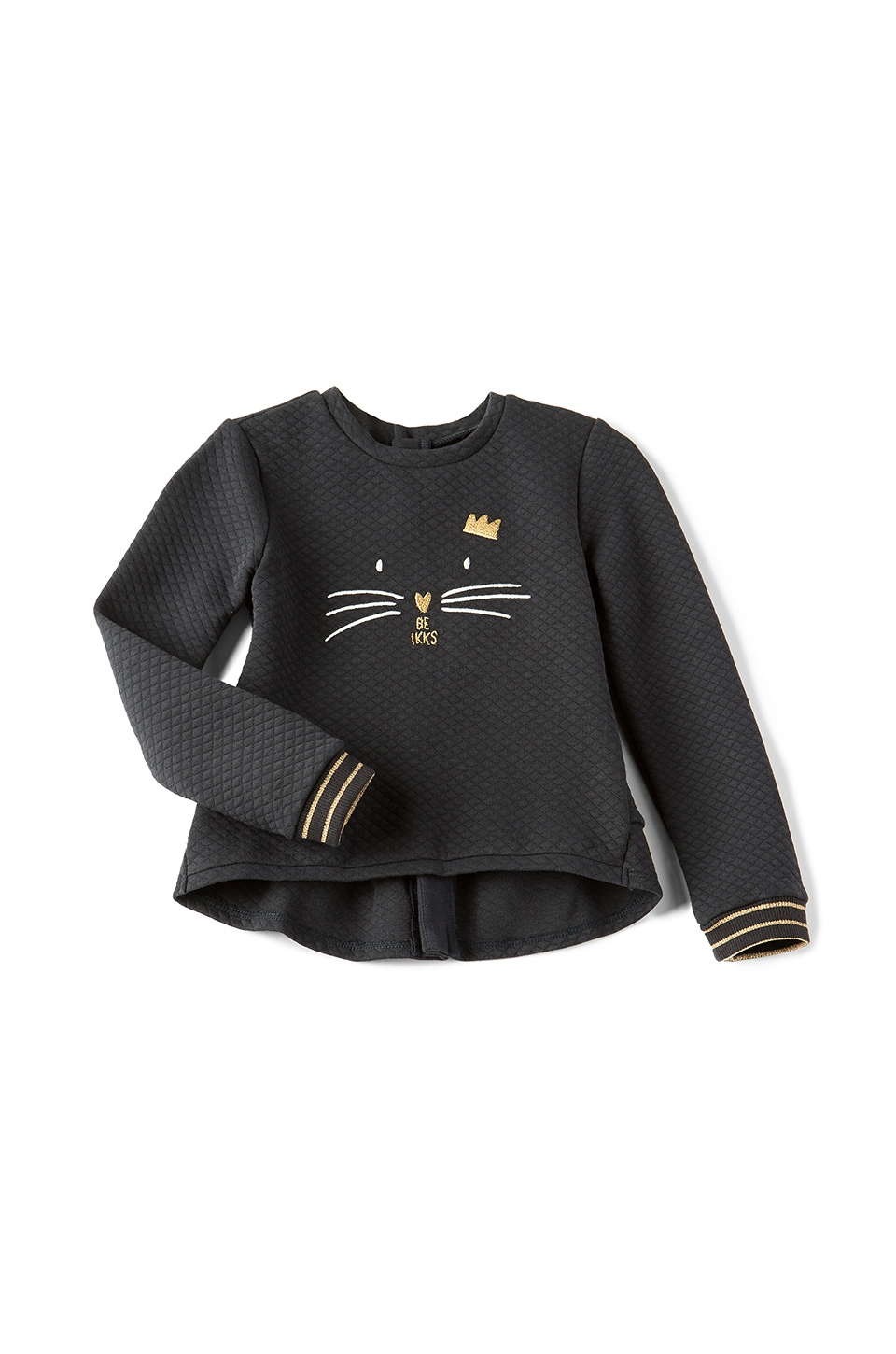 IKKS Paris Cat Sweatshirt in Navy