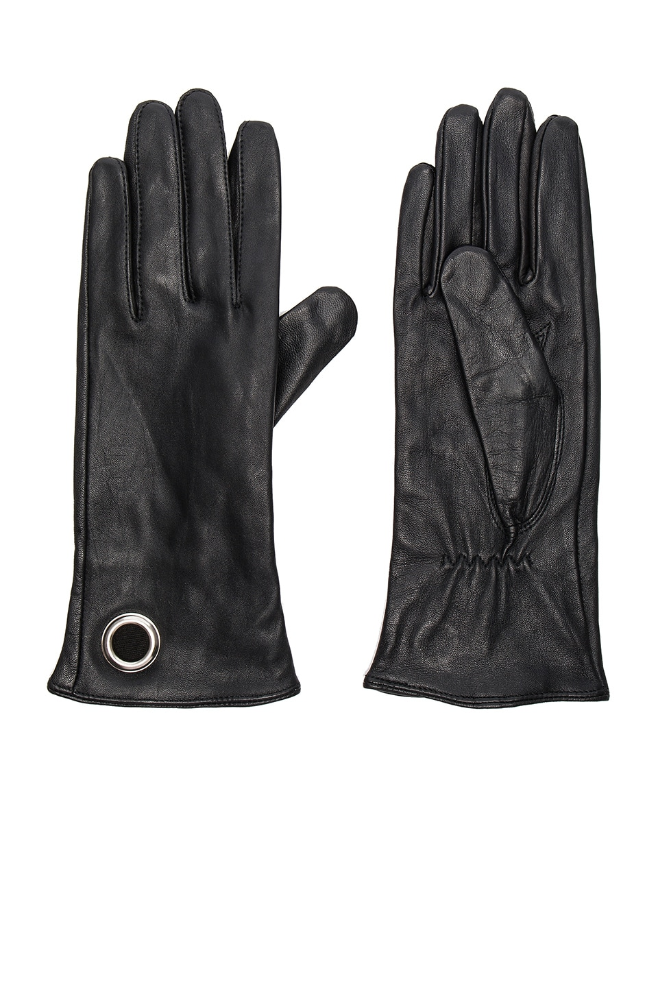 Leather Gloves by IKKS Paris
