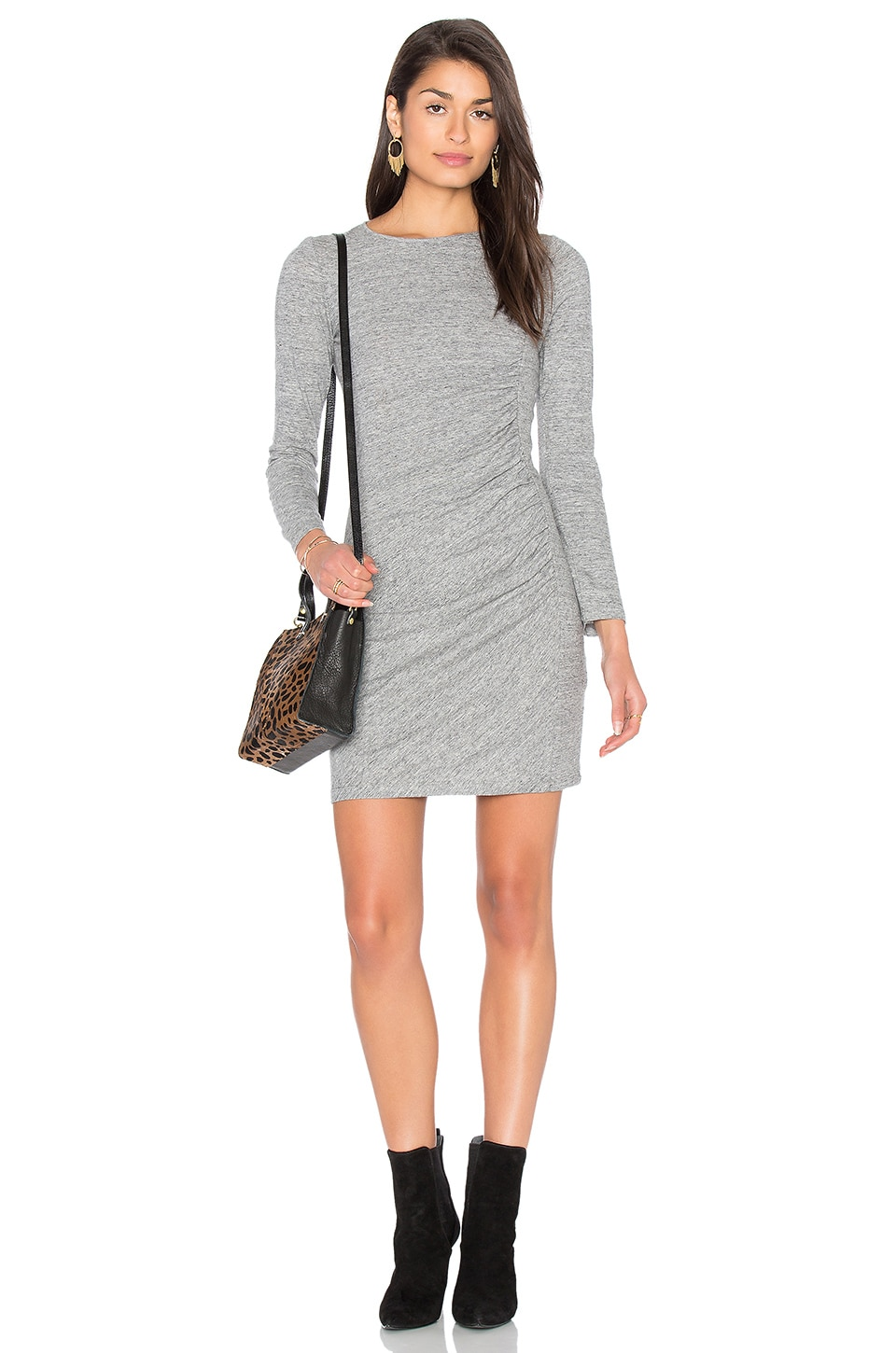 Ruched Jersey Dress by IKKS Paris
