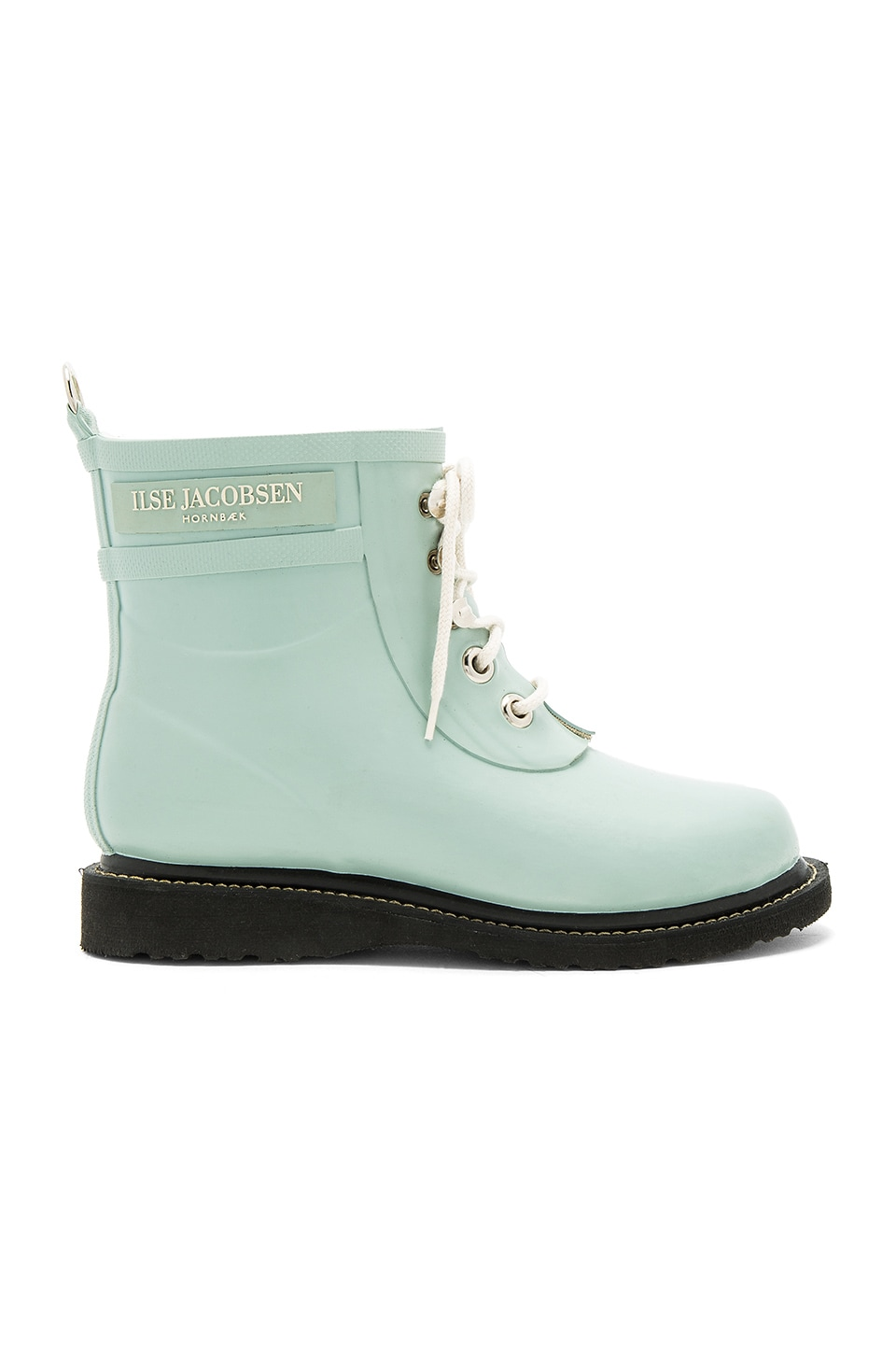 ILSE JACOBSEN Short Rubber Boot in Blue Surf