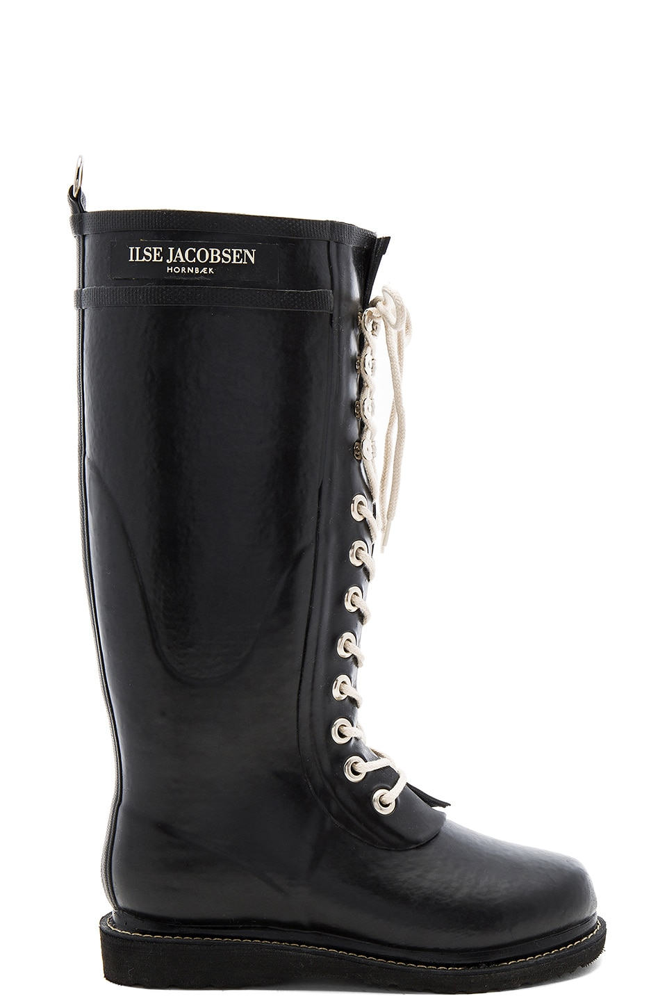 ILSE JACOBSEN Always A Classic Tall Boot in Black