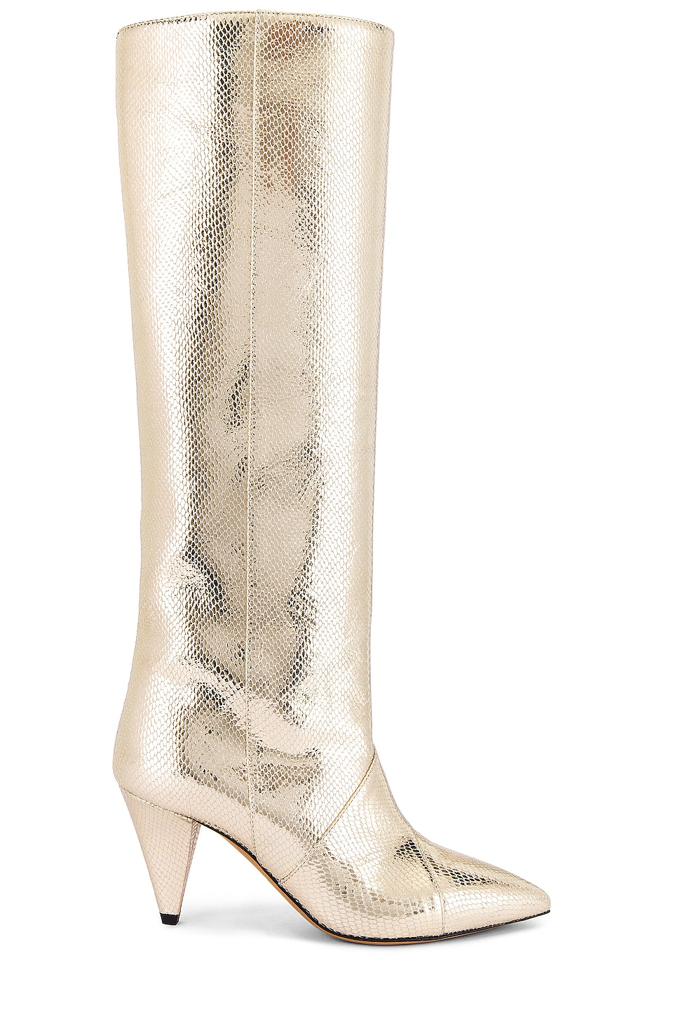 Isabel Marant Laomi Boot in Gold