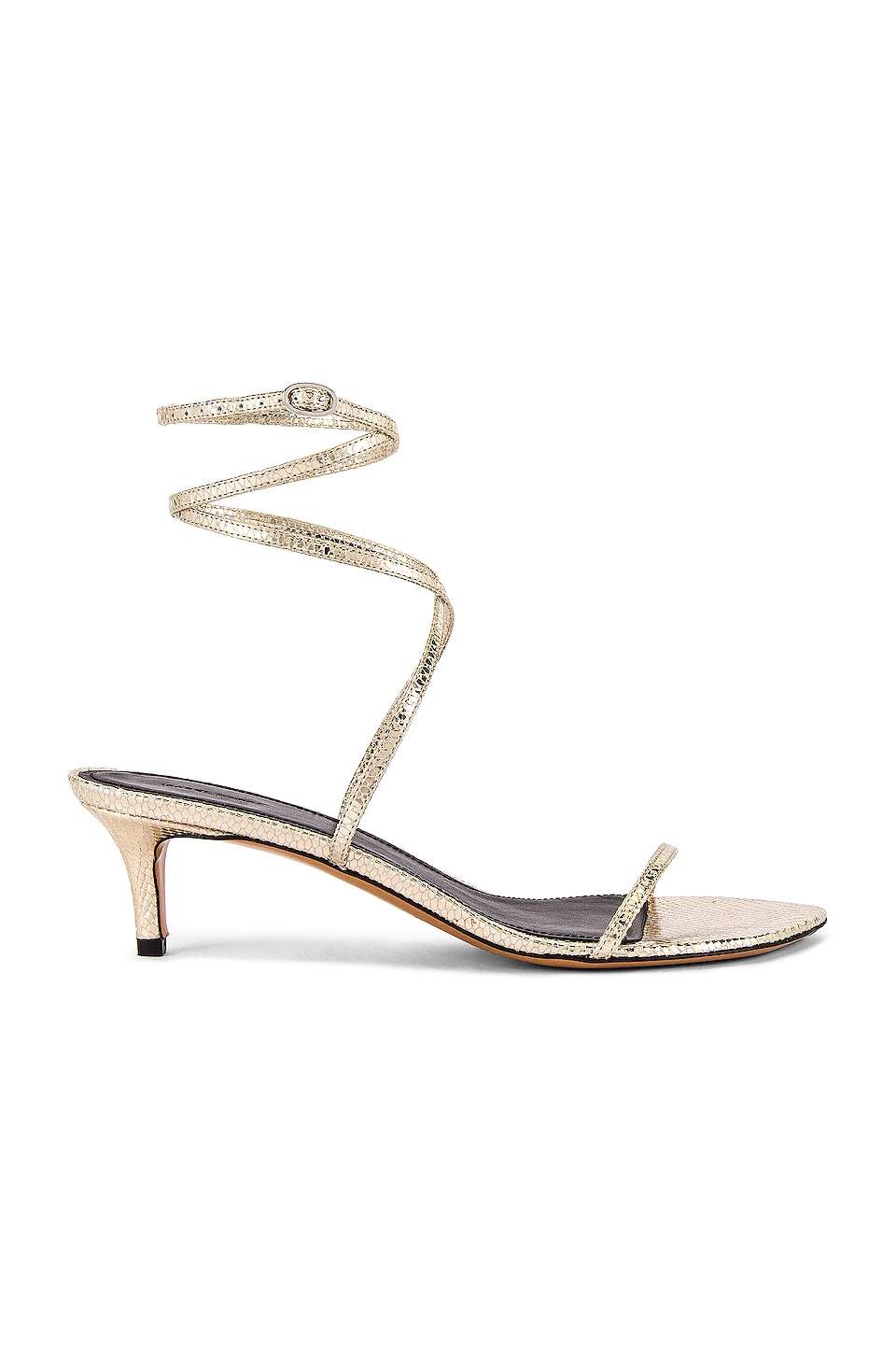Isabel Marant Aridee Sandal in Gold