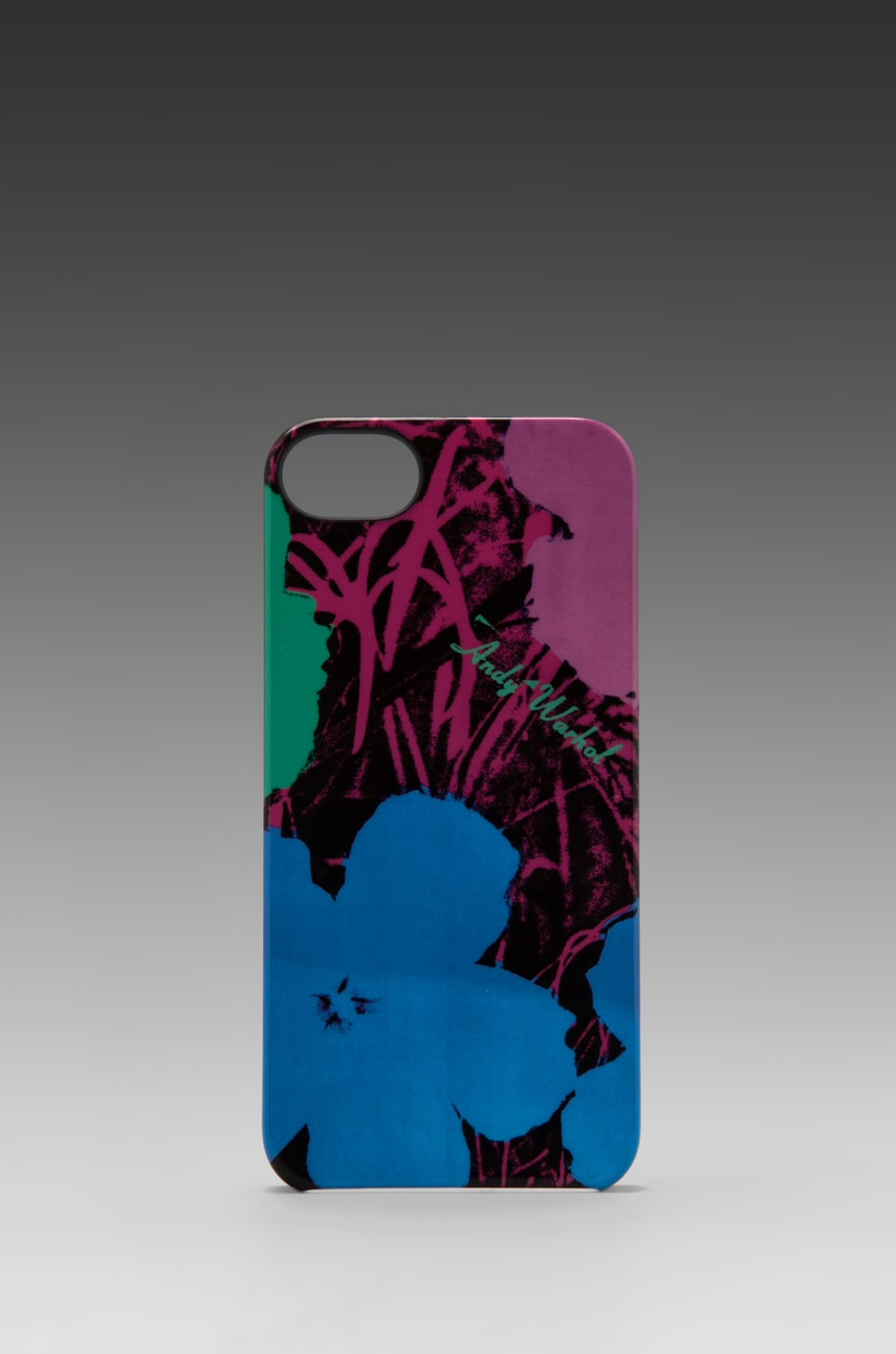 INCASE Andy Warhol Flowers iPhone 5 Snap Case in Techno Blue