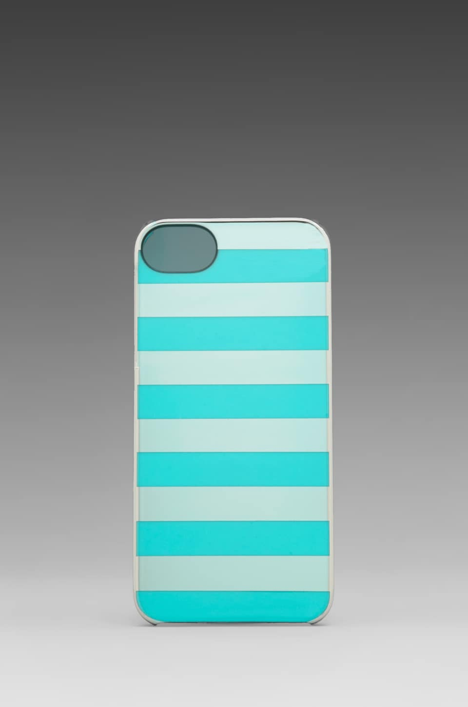 INCASE Snap Case for iPhone 5 in Silver Chrome Sea Foam Stripes