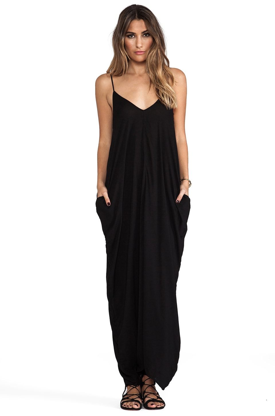 Indah Nala Maxi Dress in Black