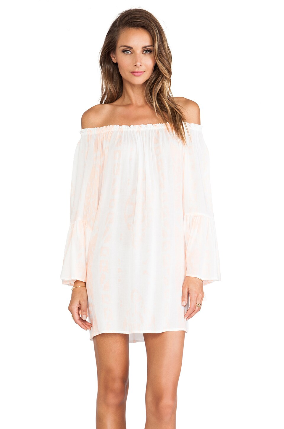 Indah X REVOLVE Kamani Mini Dress in Borneo Coral