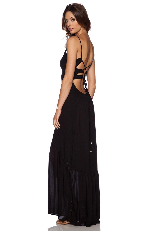 Indah Zera Maxi Dress in Black