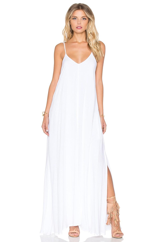 d8f49d4d75 Indah Rain Maxi Dress in White