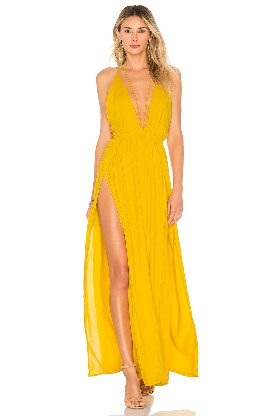 Indah Revival Maxi Dress in Sun
