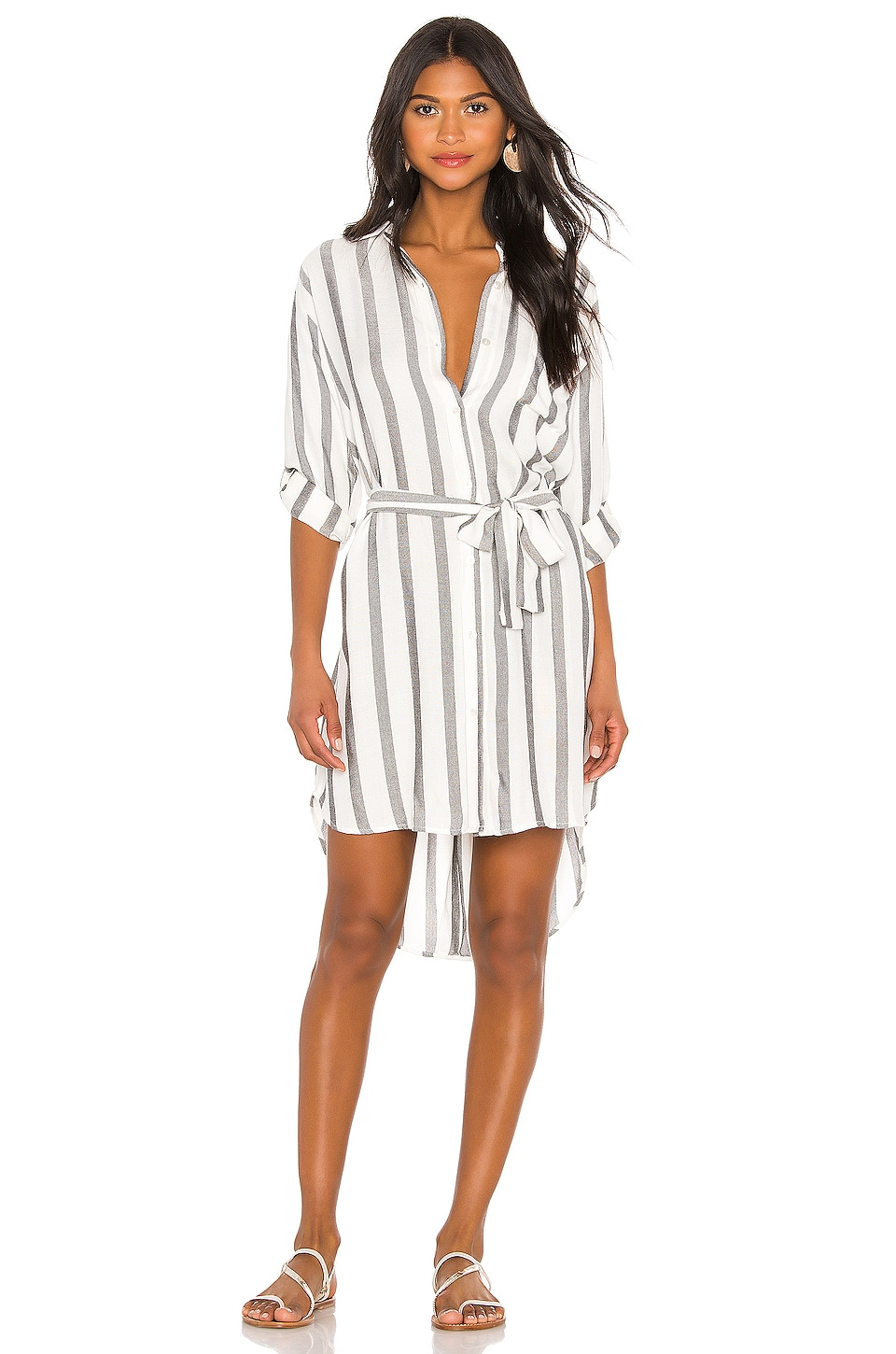 Indah Tenerife Shirt Dress in Marrakech