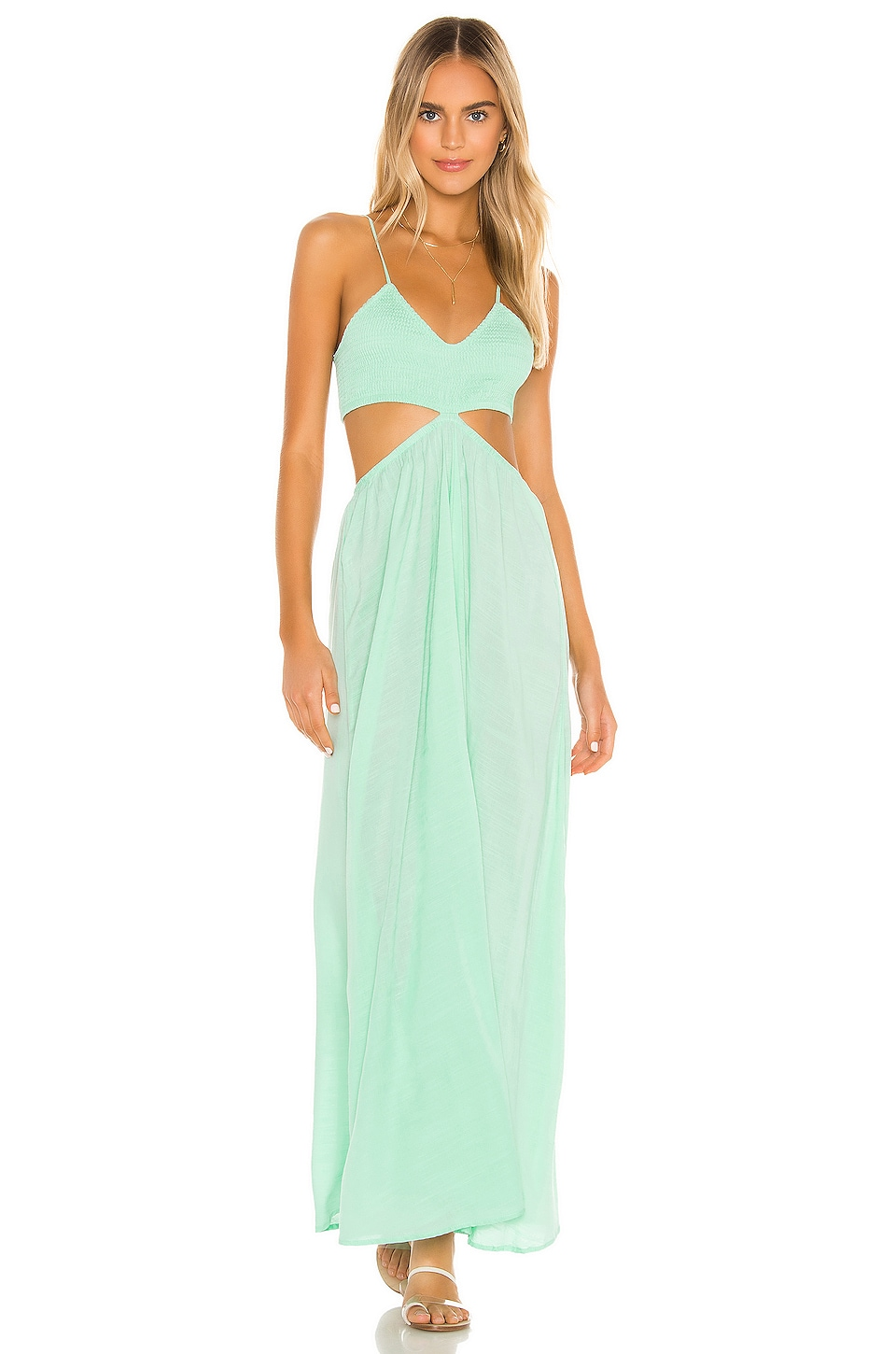 Indah X Revolve Innocence Maxi Dress In Mint Revolve Also set sale alerts and shop exclusive. indah