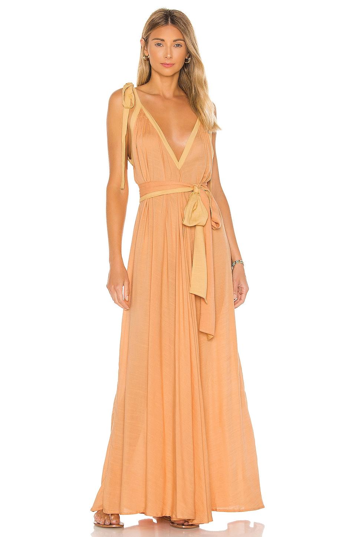 Vivian A-line Modern Goddess Maxi Dress             Indah                                                                                                       CA$ 272.92 7