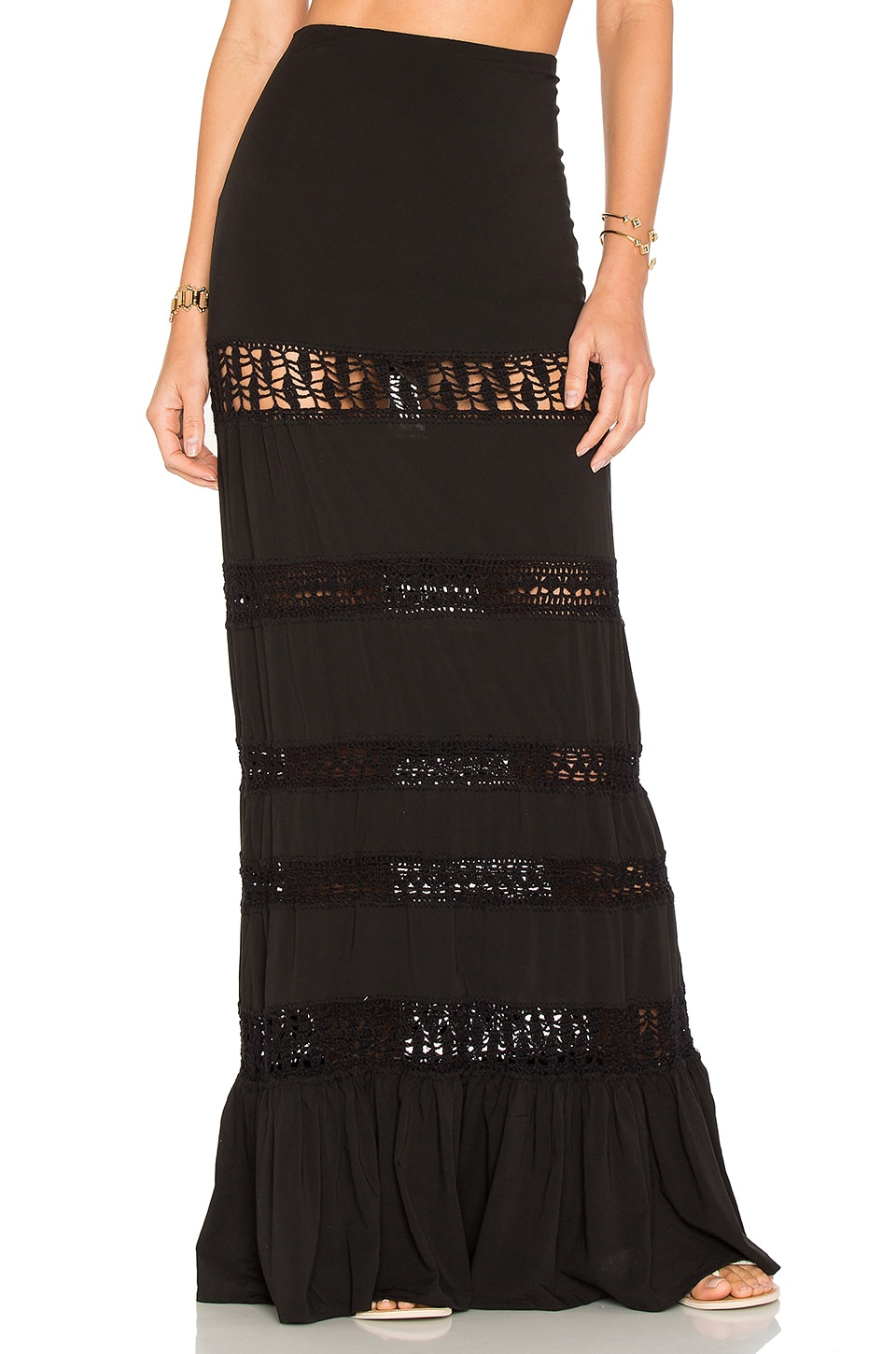 Indah Nina Skirt in Black
