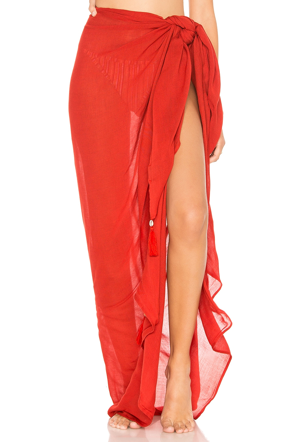 Indah Sarong Solid in Lava