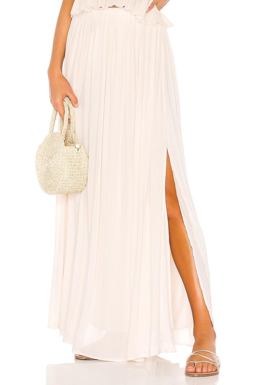 Indah Andi Maxi Skirt in Opal