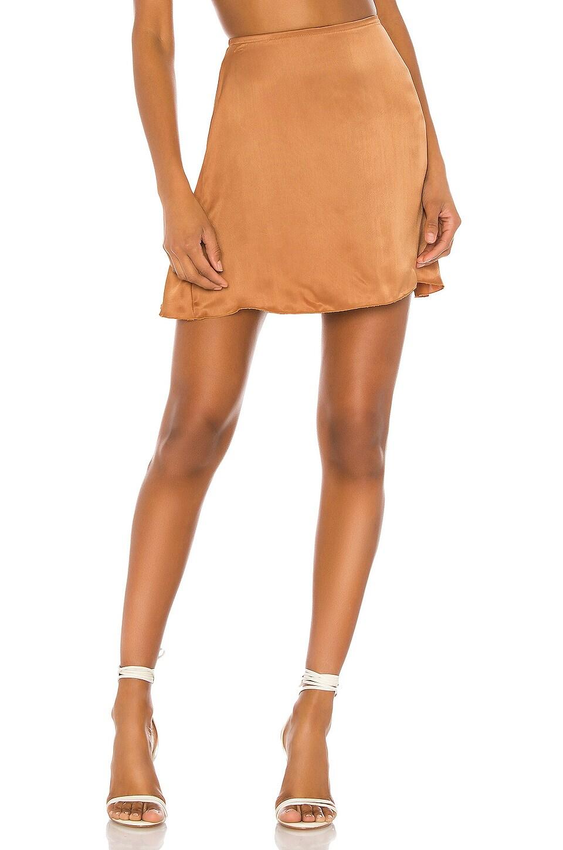 Indah Dandelion Mini Skirt in Honey