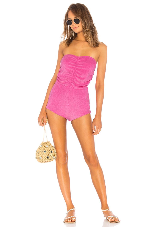 Indah Rimba Romper in Barbie