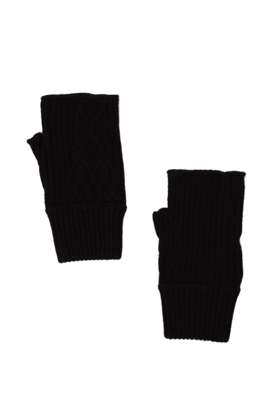 Inhabit Cashmere Gloves in Black