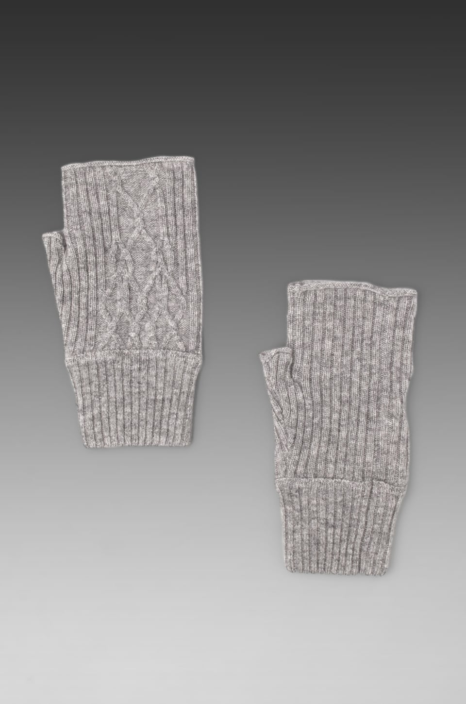 Inhabit Cashmere Gloves in Mid-Grey
