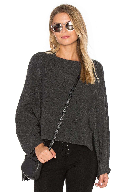 Crop Crew Neck Sweater by Inhabit