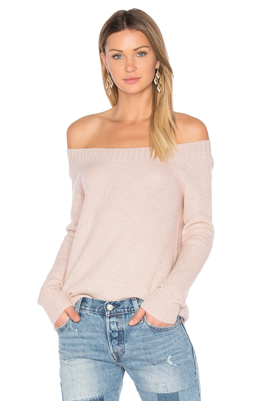 Parisienne Off Shoulder Sweater by Inhabit