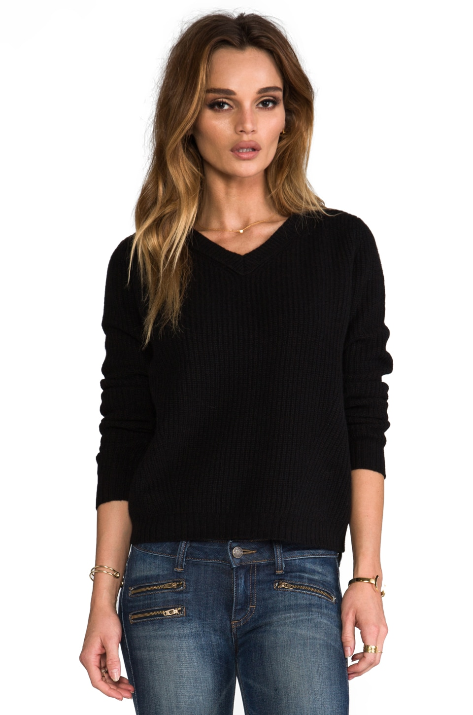 Inhabit Cashmere Shake in Black