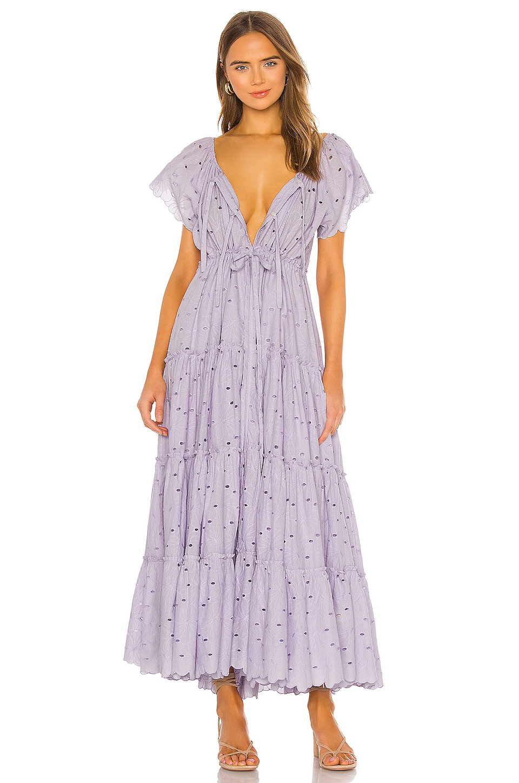 Innika Choo Alotta Gud Dress in Dusty Lilac