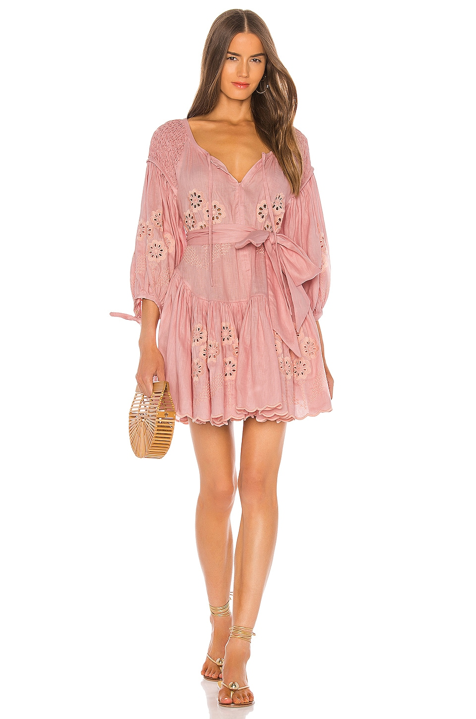 Innika Choo Meg Nettick Dress in Candy Floss