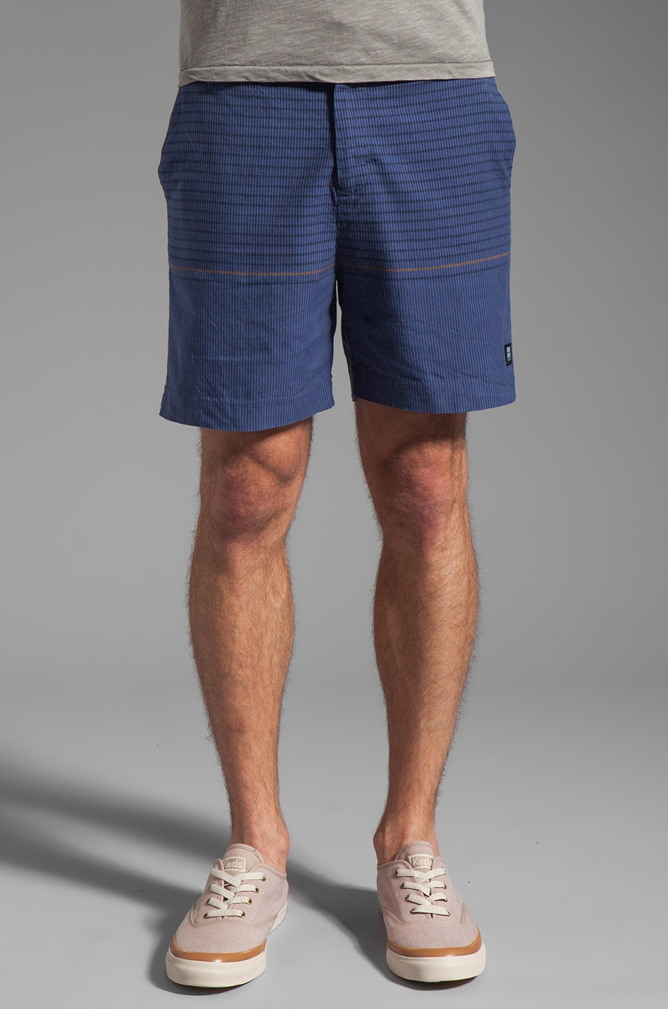 Insight Vector Rain Walkshort in Black Out Blue