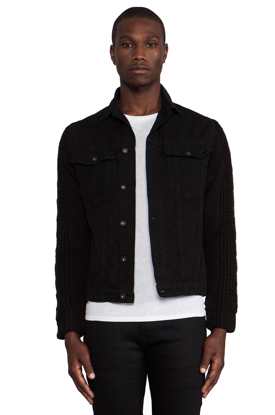 Insight Revival Jacket in Black Rinse