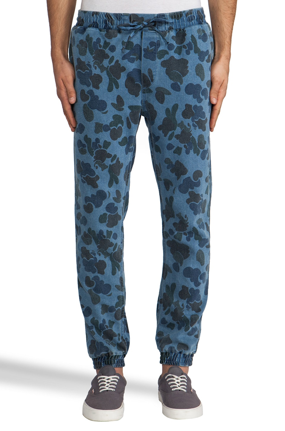 Insight Pump Pant in Camo Blue