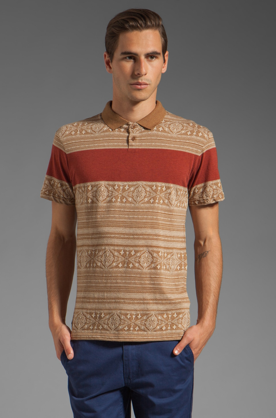 Insight Mexi Cali Polo in Digger
