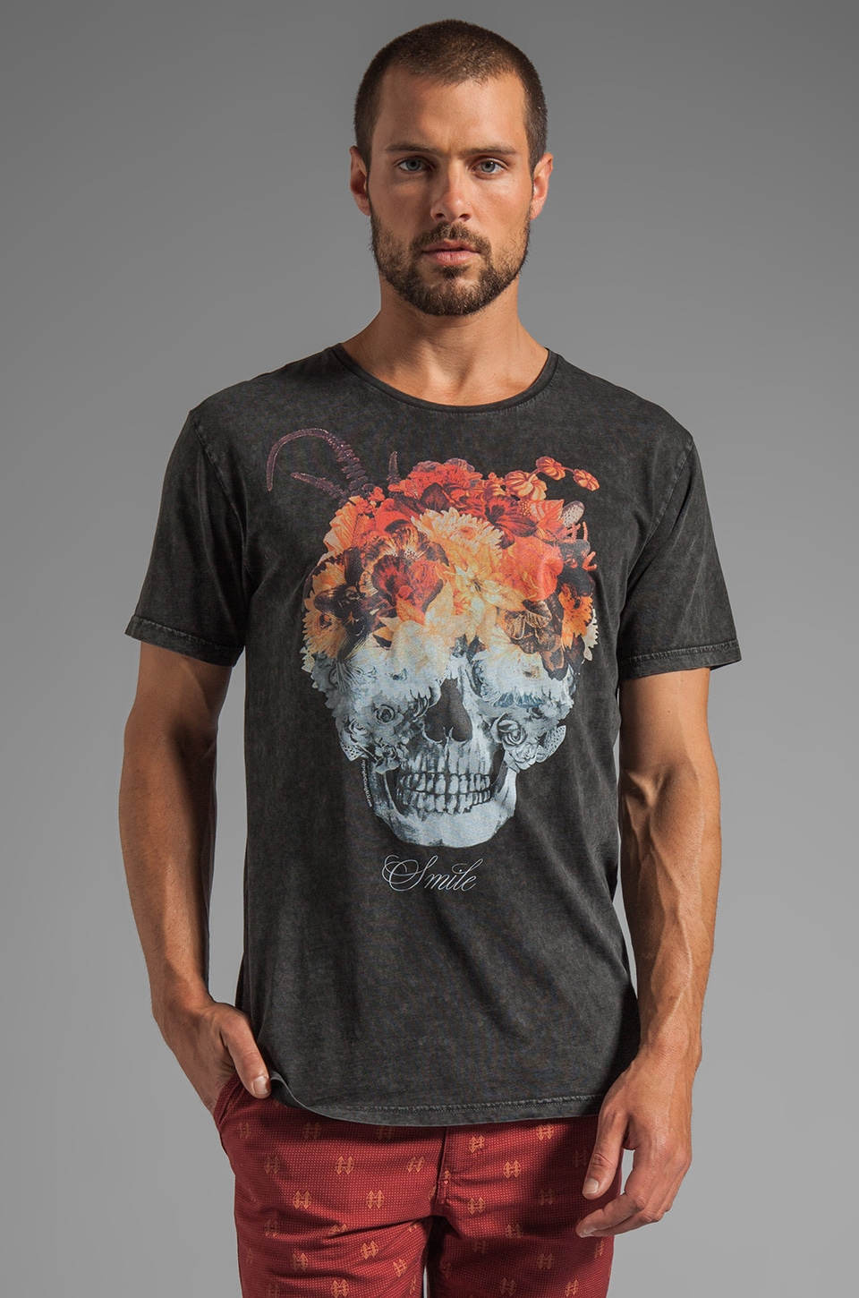 Insight Dead Head Tee in Floyd Black