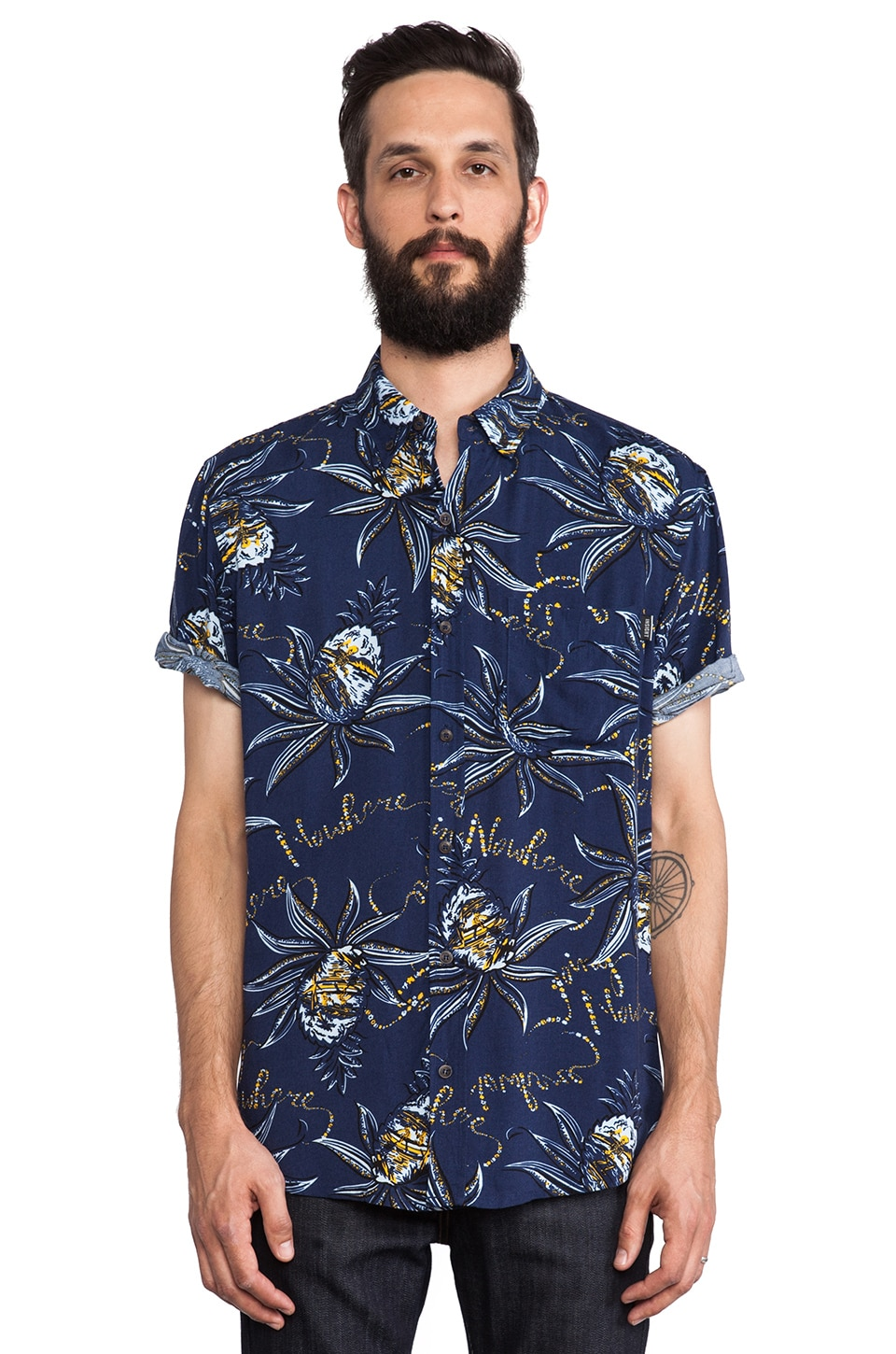 Insight Going Nowhere Shirt in Going Nowhere Blue