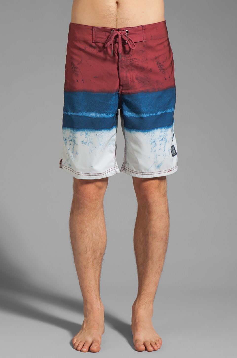 Insight Le Blur Boardshort in Deadbeet