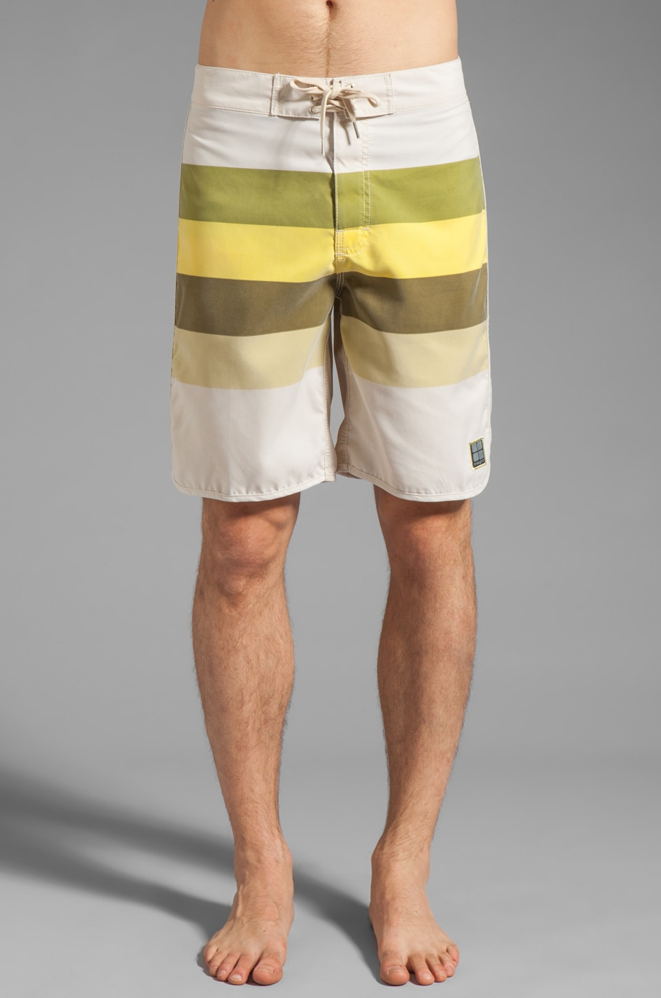 Insight Retro Stud Regular Boardshort in Dirty Sun
