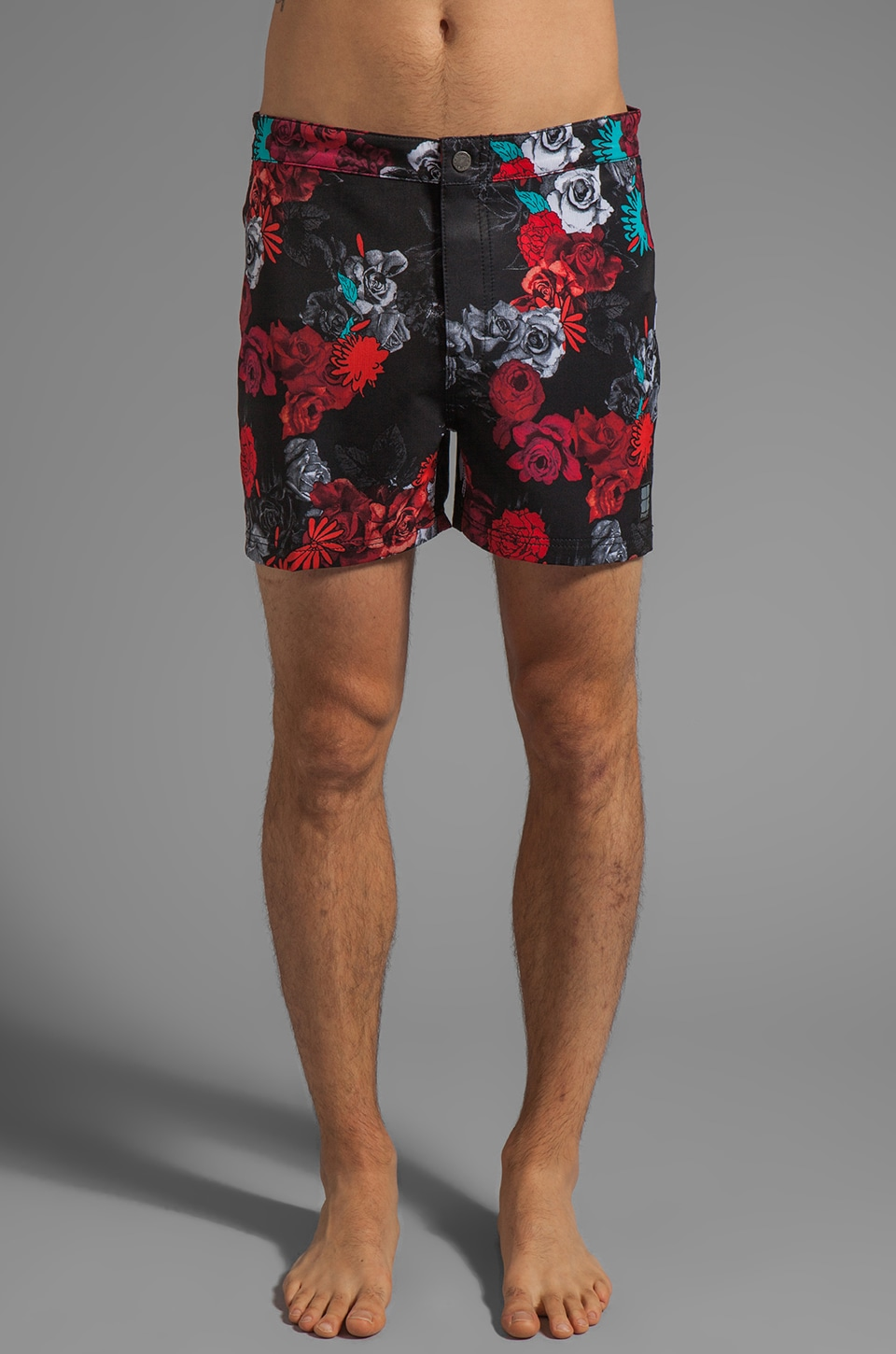 Insight Border Crossing Bunker Boardshort in Floyd Black