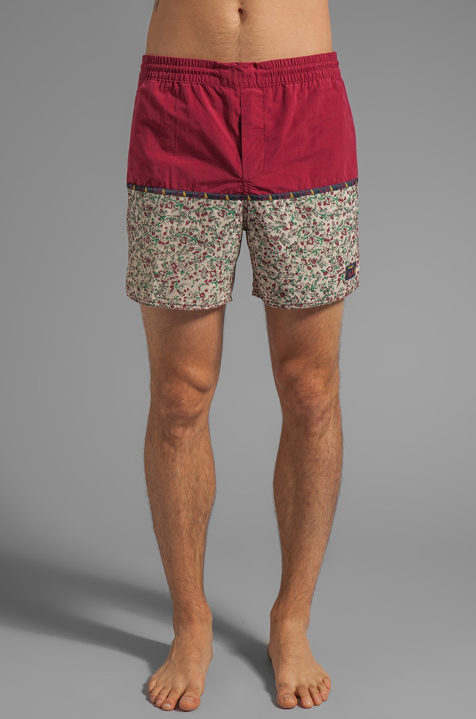 Insight Church Mid Warren Smith Signature Series Boardshort in Sangria