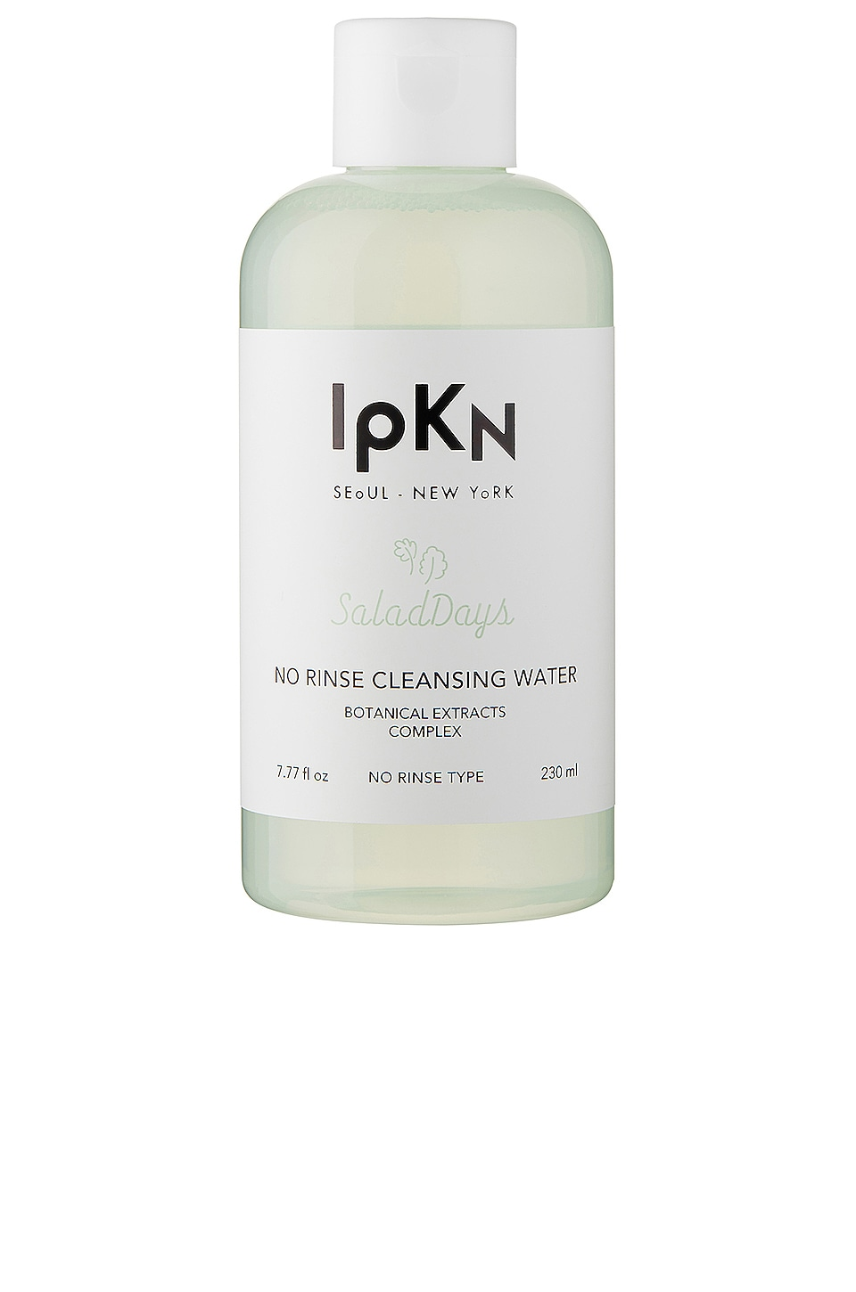 IPKN SALAD DAYS NO RINSE CLEANSING WATER