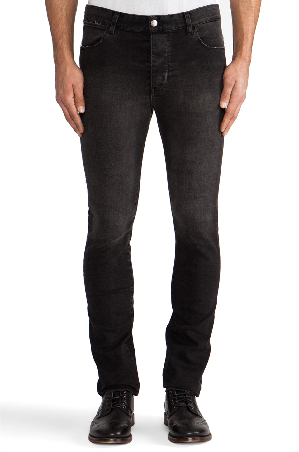 IRO Jilian Slim in Noir