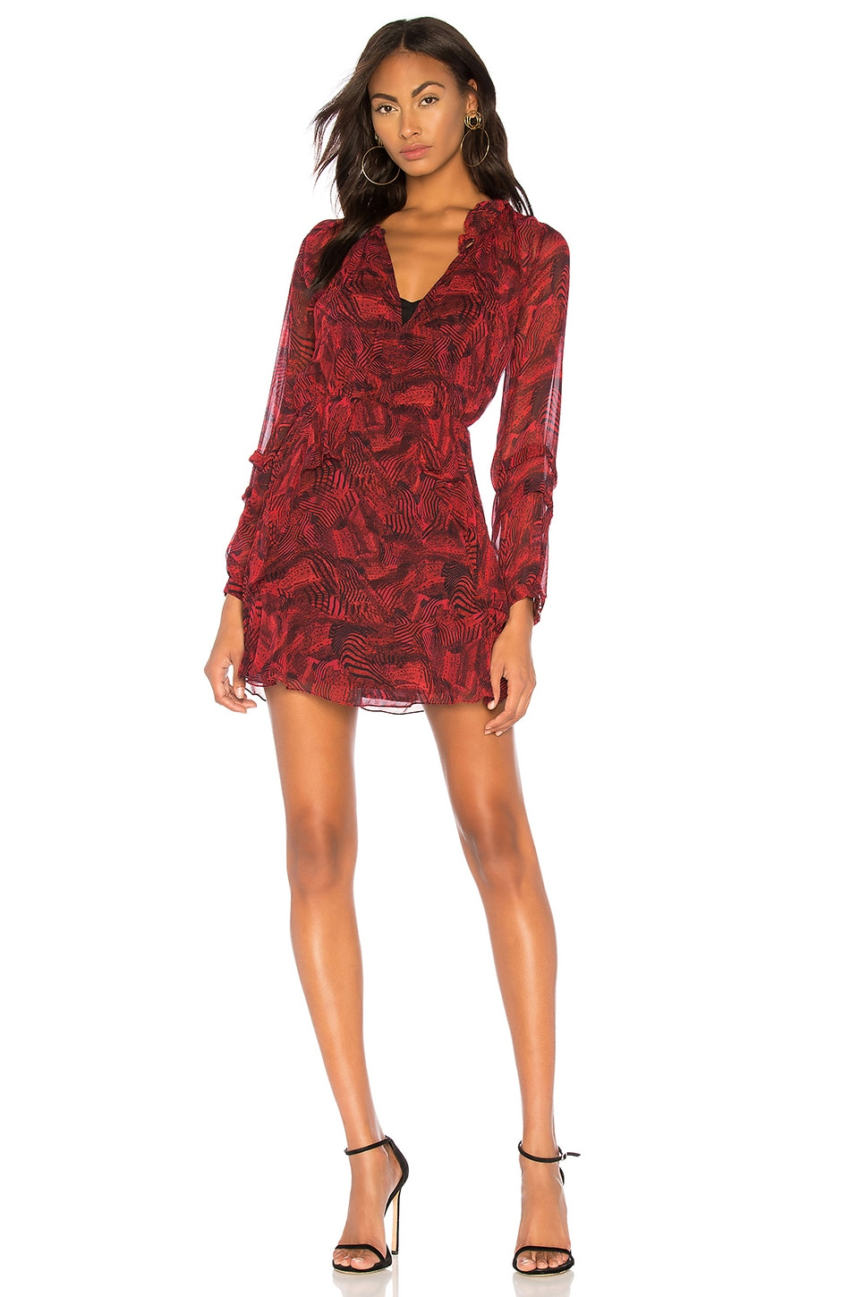 IRO Prime Dress in Red