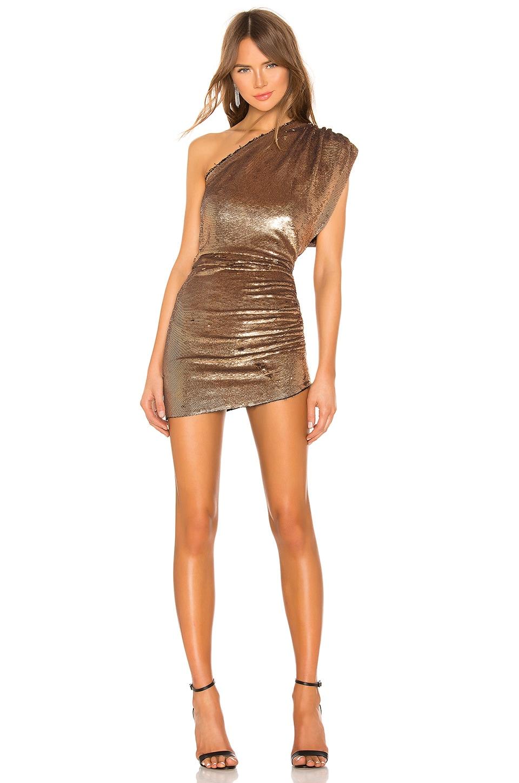 IRO Exciter Dress in Gold | REVOLVE