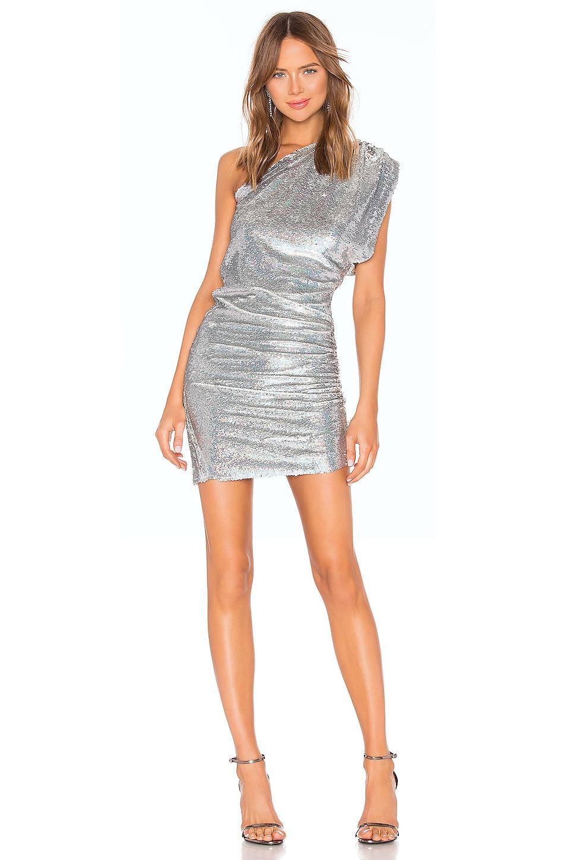 IRO X REVOLVE Exciter Dress in Silver