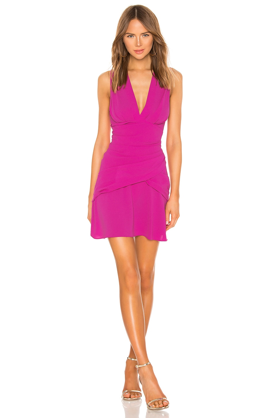 IRO Venue Dress in Fuchsia