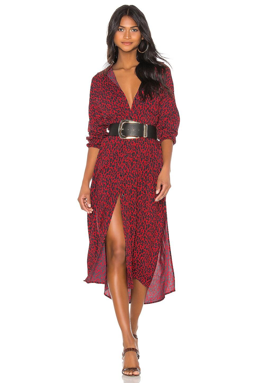IRO Pirae Dress in Red